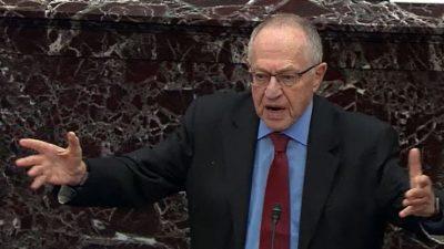 US-Anwalt Dershowitz will Giuliani verteidigen, falls man ihn aus der Anwaltskammer ausschließen will