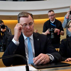 Handy-Spiele während Corona-Gipfel: Ramelow in der Kritik