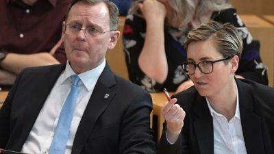 """Linkspartei: """"FAZ"""" zu Hennig-Wellsow und Wissler: """"Grün-Rot-Rot kann man getrost abhaken"""""""