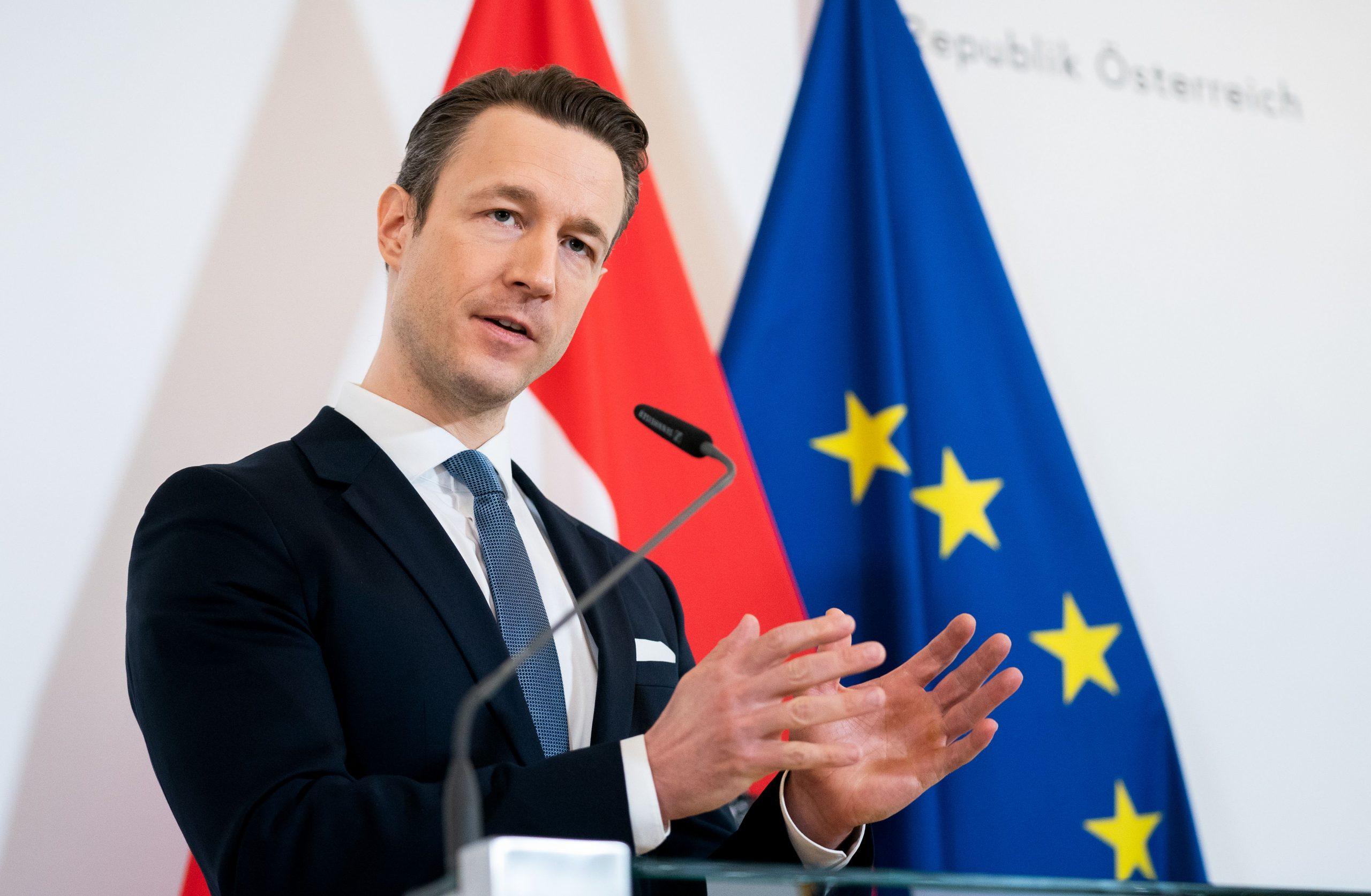 """Österreichs Finanzminister: """"Wenn die Krisenhilfen zu lange dauern, gefährden sie unseren Wohlstand"""""""