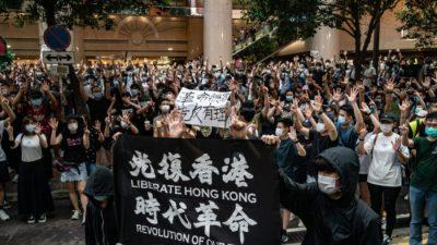 """Hongkonger Demonstranten mit Freiheitspreis ausgezeichnet: """"Kämpfen für Freiheit und Demokratie"""""""