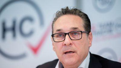 Österreich: Ibiza-Ermittlungen brechen zusammen – Parteispenden-Verfahren gegen Strache eingestellt