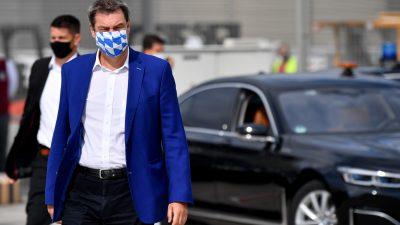 München: Maskenpflicht auf Demos ab Samstag – Söder will bei Querdenken-Demo hart durchgreifen