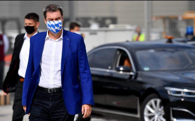 München: Maskenpflicht auf Demos ab Samstag - Söder will bei Querdenken-Demo hart durchgreifen