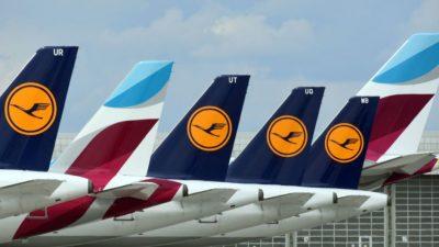 Die 22 Flughäfen Deutschlands haben ein Problem: Passagieraufkommen auf 20 Prozent gesunken
