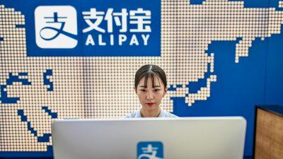 Trump ordnet Verbot von acht chinesischen Apps an – darunter Alipay