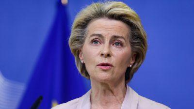 Erste Rede zur Lage der EU: Von der Leyen will Weg aus der Krise zeigen