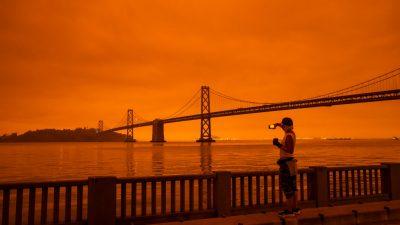 Waldbrände an der US-Westküste vernichten ganze Ortschaften