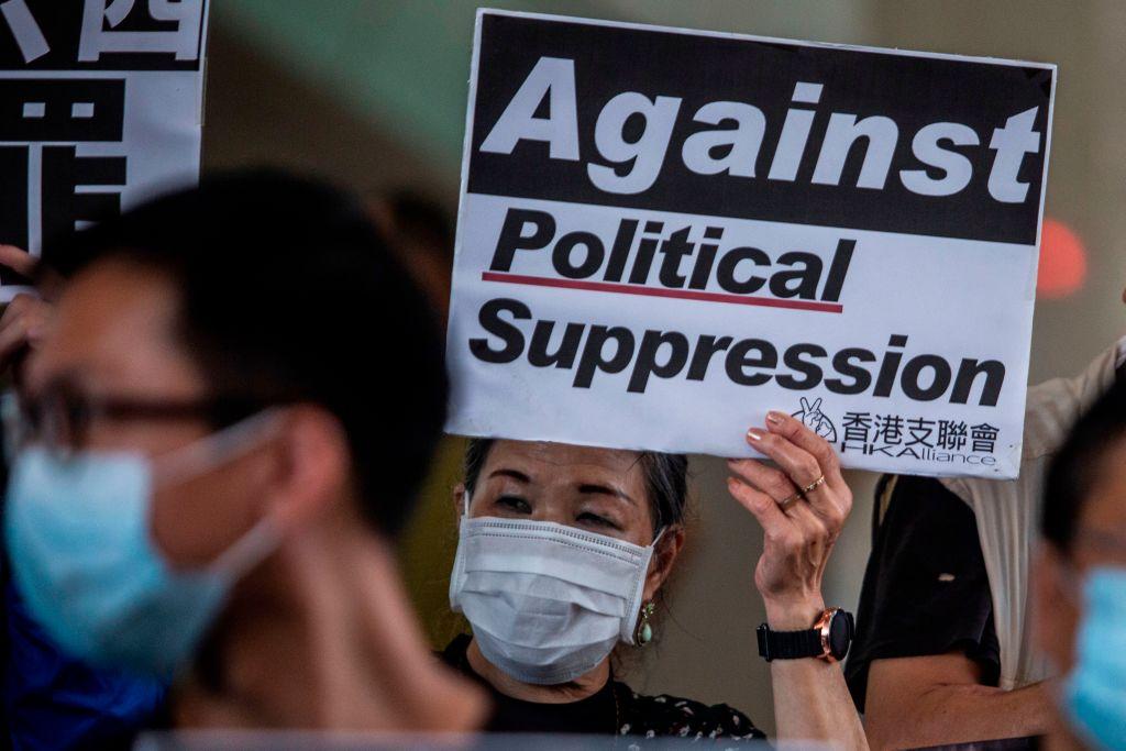 Tiananmen-Mahnwache geplant: Polizei in Hongkong nimmt bekannte Demokratie-Aktivistin in Gewahrsam