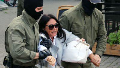 """Tichanowskaja wegen """"Vorbereitung von Unruhen"""" auf Fahndungsliste gesetzt"""