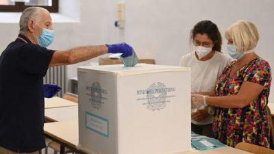 Italien: Patt bei Regionalwahlen – Rechter Erdrutschsieg in Venezien, Linke kann Toskana halten