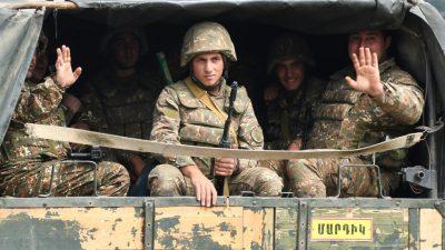 Armenien nicht zu Aufnahme von Friedensgesprächen mit Aserbaidschan bereit