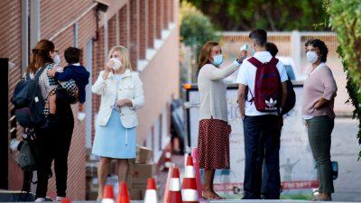 Corona-Pandemie: Madrid will wieder Ausgangssperren in einzelnen Stadtteilen verhängen
