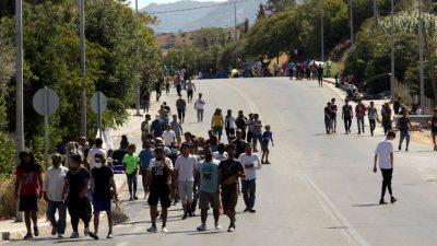 Brand in Moria: EU-Innenkommissarin ruft zu schneller Hilfe auf – Röttgen fordert Aufnahme von 5.000 Migranten