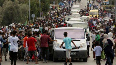 THW: Griechenland behindert ausländische Hilfe für Flüchtlingslager