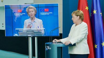 EU drängt China zu Marktzugang und Menschenrechten