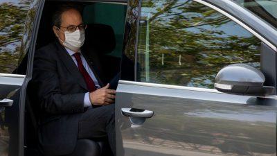 "Katalanischer Regionalpräsident erneut wegen ""Ungehorsams"" vor Gericht"