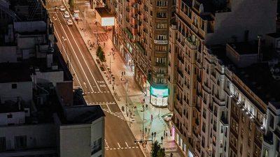 Ausgangsbeschränkungen in Madrid werden auf gesamte Stadt ausgeweitet