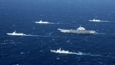UK und Japan schicken Flugzeugträger ins Ost- und Südchinesische Meer – Peking immer aggressiver