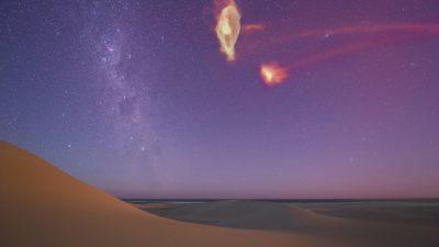 50-jähriges Rätsel: Massiver Halo um Magellansche Wolken erklärt mysteriösen Gasstrom zur Milchstraße