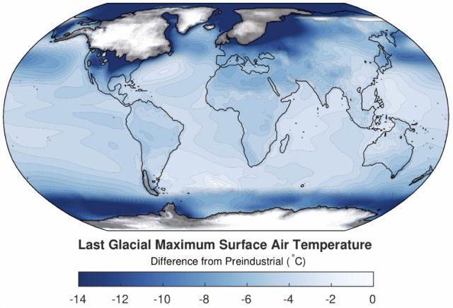 Eiszeit Karte