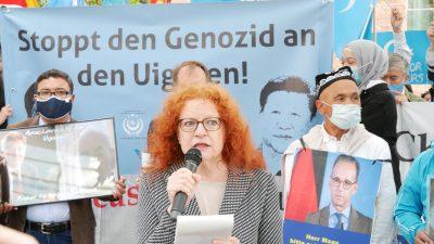 Grünen-Politikerin weist Pekings Kritik an geplanter UN-Sitzung zu Uiguren-Verfolgung zurück