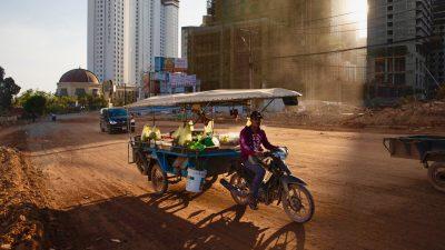 USA sanktionieren chinesisches Staatsunternehmen wegen Landenteignung und Korruption in Kambodscha