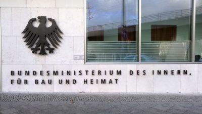 Für eine Auskunft aus dem Bundesinnenministerium: Journalist muss 235 Euro zahlen