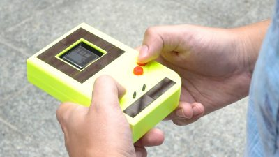 Endloses Spielvergnügen: Forscher entwickeln ersten Batterie-freien Game Boy