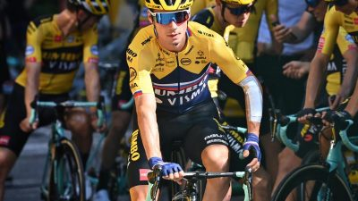 4. Etappe der Tour de France: Roglic siegt bei Bergankunft