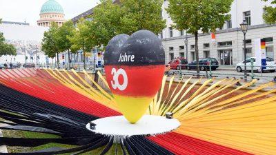 Feiern zum 30. Jahr der Deutschen Einheit eröffnet