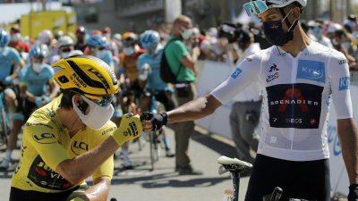 Ewan gewinnt elfte Tour-Etappe – Roglic weiter in Gelb