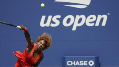Serena Williams in New York nach Kraftakt im Halbfinale