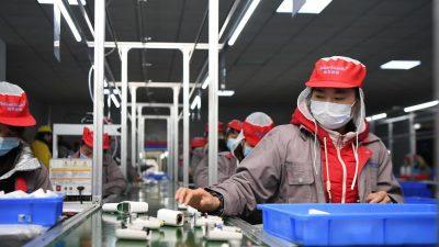 Vor Spitzenkonferenz fordern EU-Firmen von China Zugeständnisse für Investition