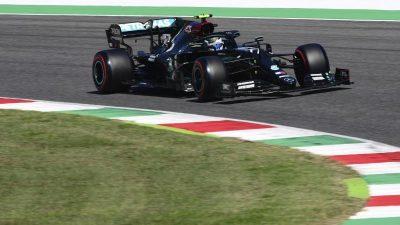 Bottas wieder Trainings-Schnellster in Mugello – Vettel 18.