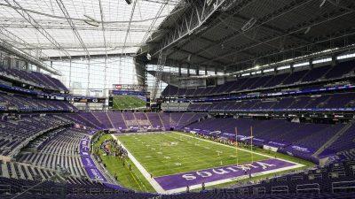 Floyd-Familie sieht Auftakt im Stadion der Minnesota Vikings