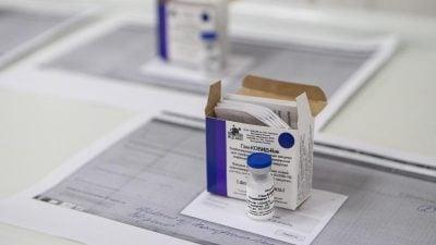 Belarus startet Corona-Impfungen mit russischem Vakzin