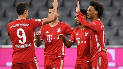 8:0-Gala ohne Fans: Triple-Bayern überrollen Schalke