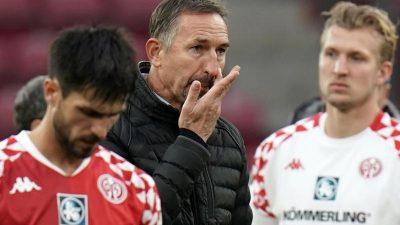 Chaos-Tage in Mainz: Trainer Beierlorzer ohne Rückendeckung