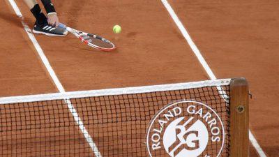 Deutsches Tennis-Trio will inParis in Runde zwei