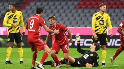 Dank Kimmich:Bayern holen den Supercup gegen den BVB