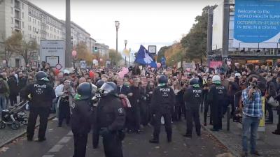 """Innenminister uneinig über Beobachtung von """"Querdenken"""" durch Verfassungsschutz"""