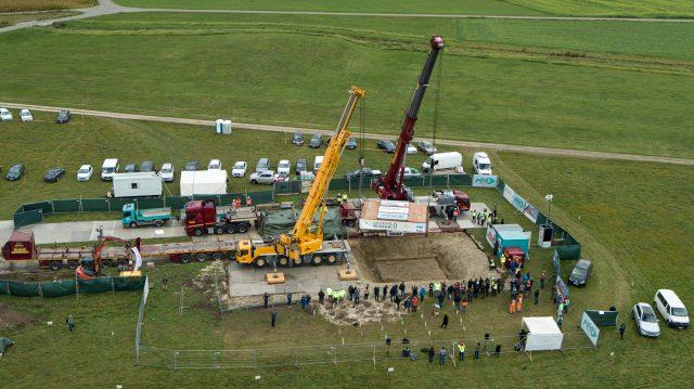 80 Tonnen schwerer Kelte am Haken: Archäologen bergen Prunkgrab in Baden-Württemberg