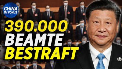 NTD: Leere Geschäfte zeigen Chinas wirtschaftliche Situation   390.000 Beamte wegen Korruption bestraft