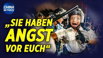 "NTD: Massenverhaftungen in Hongkong & Proteste in Berlin | Wissenschaftler nennt Demokratie ""böse Sekte"""