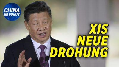 """NTD: Xi warnt USA: Wenn ihr uns provoziert """"wird es hässlich""""  Pompeo mobilisiert Bündnispartner gegen China"""
