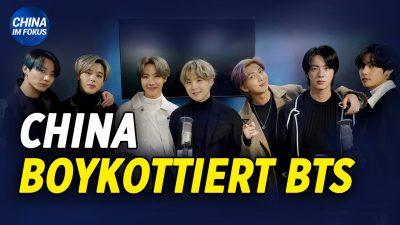 NTD: China boykottiert BTS wegen Bemerkungen zu Koreakrieg | Pakistan verbietet Tiktok