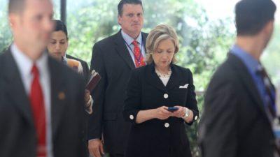Pompeo kündigt Veröffentlichung von Clintons E-Mails noch vor der Wahl an