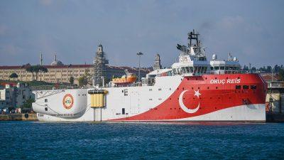 Türkisches Forschungsschiff kehrt von umstrittener Gas-Erkundungsmission zurück