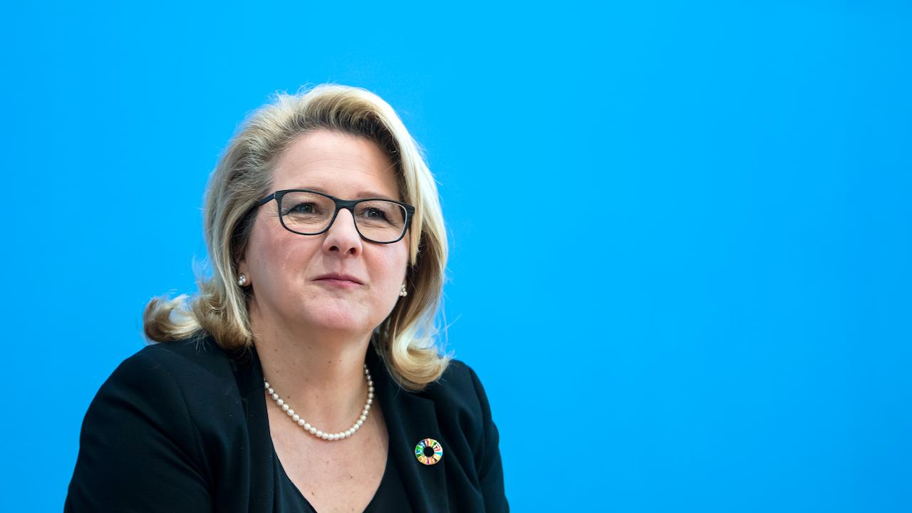 Umweltministerin Schulze: Wasserstrategie für Deutschland kommt im Sommer 2021
